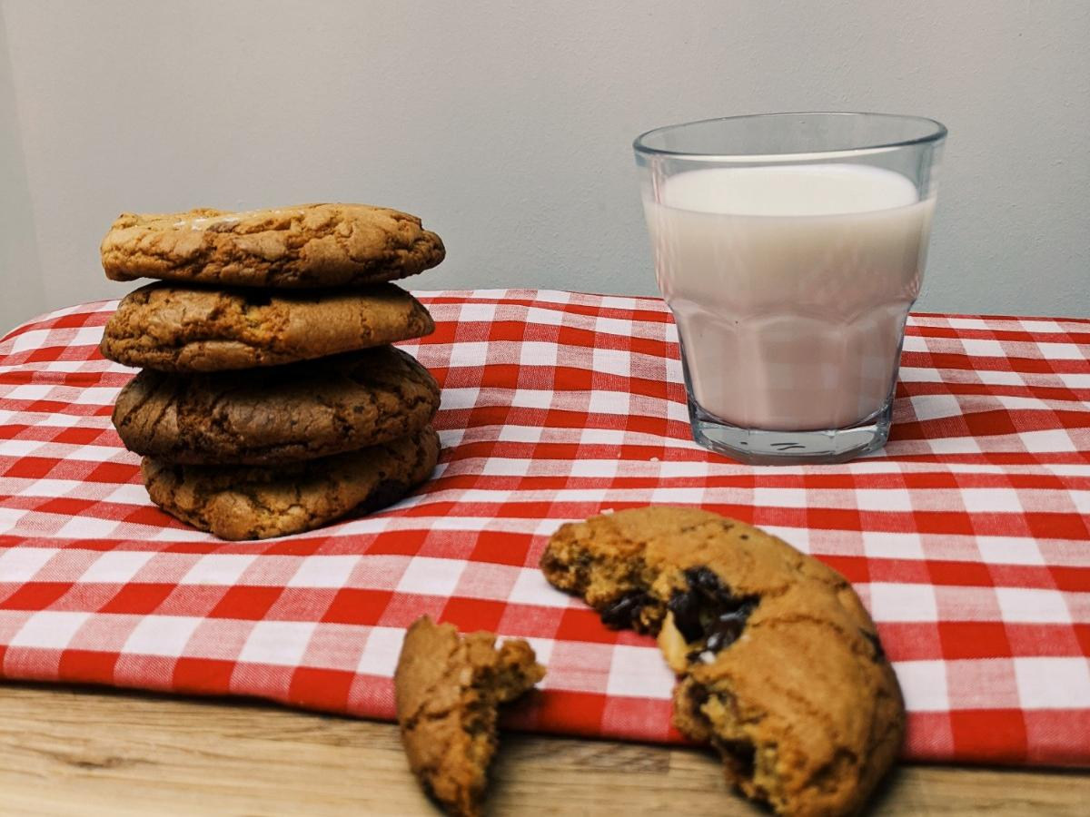 Cookies and milk, a match made in heaven